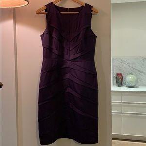 Elegant Adrianna Papell Purple dress